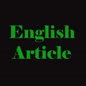 English Skills: English Article